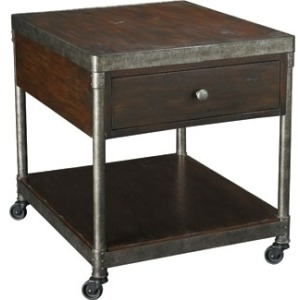 Structure Rectangular Drawer End Table