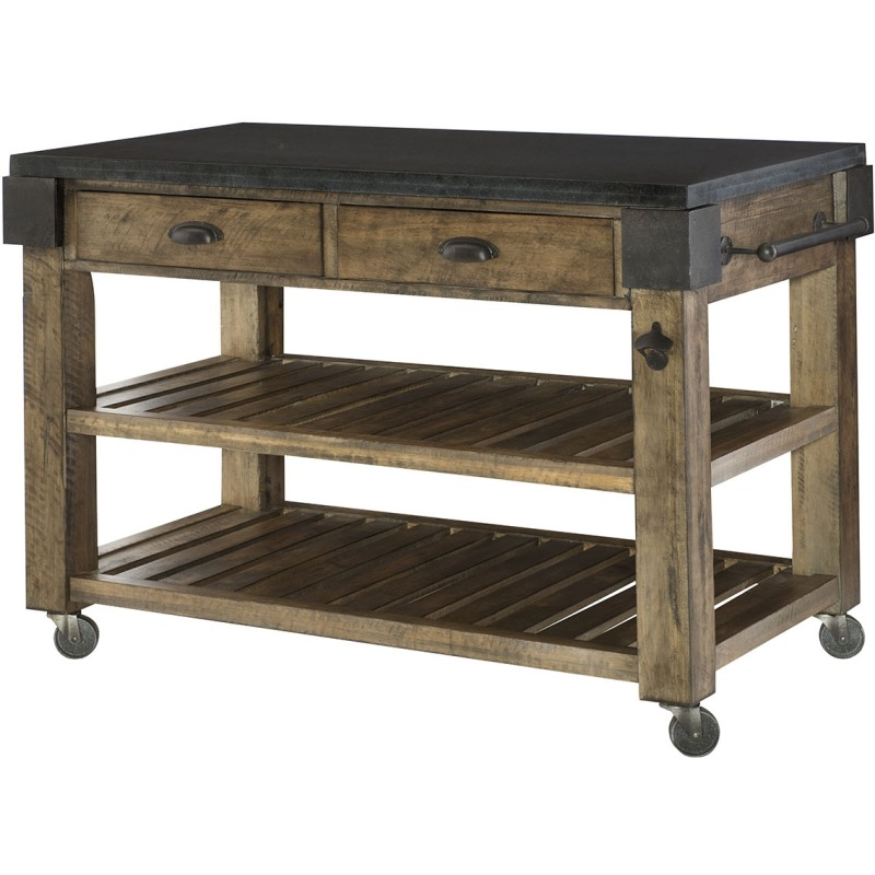 Hidden Treasures Kitchen Island - Kd