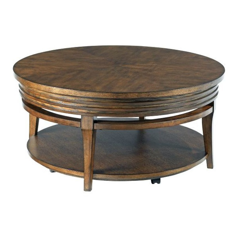 Round Cocktail Table By Hammary Furniture 579 913 Vermeulen