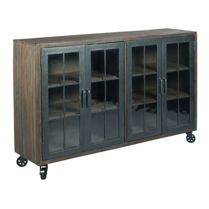 Trolley Door Cabinet By Hammary Furniture