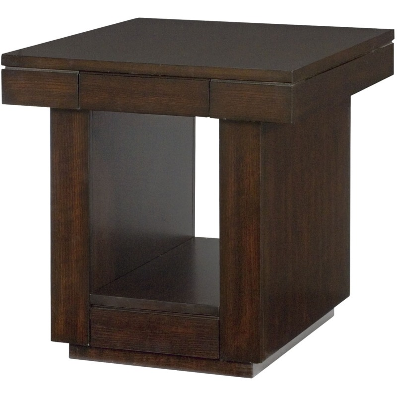 Table Groups Uptown Two Drawer End Table