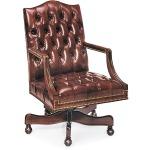 Jefferson Tufted Swivel-Tilt Chair