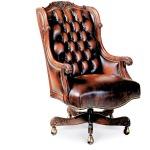 Oakley Tufted Swivel-Tilt Chair