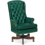 Freeman Tufted Swivel-Tilt Chair