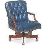 Arnold Tufted Swivel-Tilt Chair