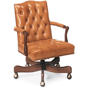 Graham Tufted Swivel-Tilt Chair