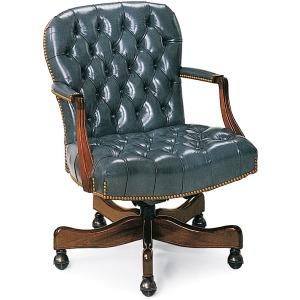 Georgetown Tufted Swivel-Tilt Chair