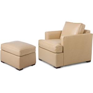 5356Illusion Chair & Ottoman