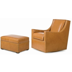 Rosemont Swivel Chair & Ottoman