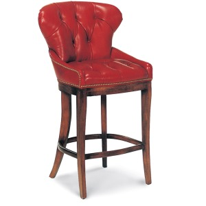 Franklin Tufted Bar Stool