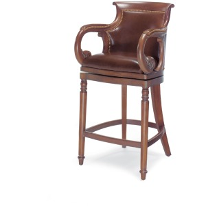 Jockey Club Swivel Bar Stool