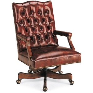 Washington Tufted Swivel-Tilt Chair