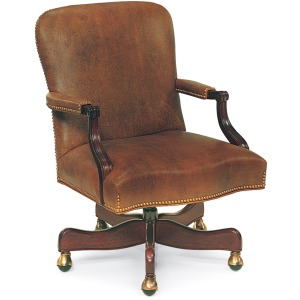 Arnold Swivel-Tilt Chair with Manual Lift