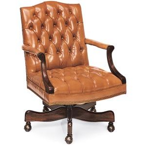 Norfolk Tufted Swivel-Tilt Chair