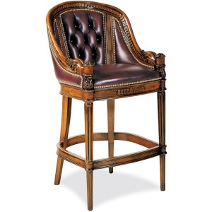 Appointment Tufted Bar Stool