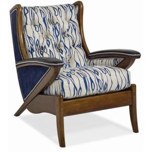 Boomerang Tufted Chair
