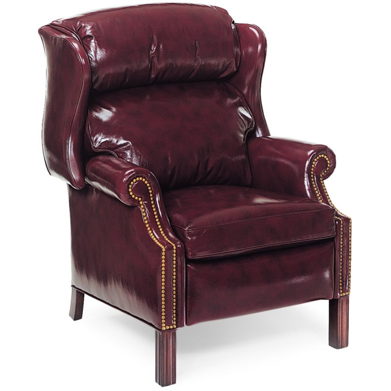 1021Woodbridge Chippendale Wing Chair Recliner