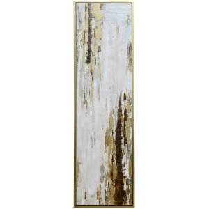 Bowery II Framed Canvas Art
