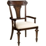 Charleston Place - Panel Back Arm Chair