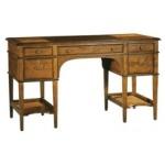 7-1111 Leather Top Leg Desk