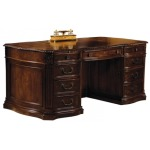 7-9160 Old World Executive Desk