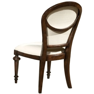Charleston Place - Oval Back Side Chair