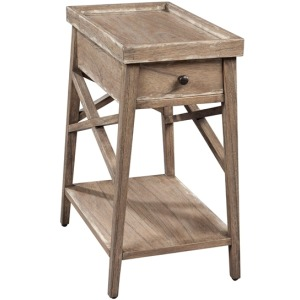 Primitive Chairside Table