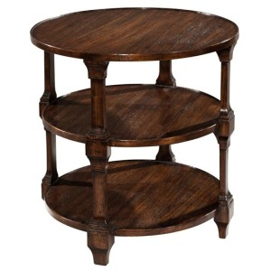 Tiered Lamp Table