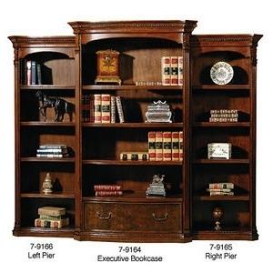 Old World Executive Bookcase