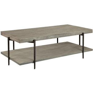 Bedford Park Rectangular Coffee Table With Shelf