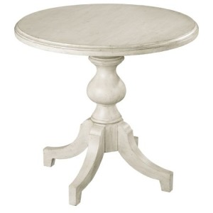 Greystone Inn Round Lamp Table with 4-Legged Base