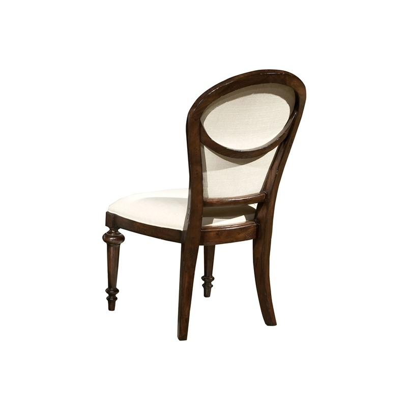 942705CP Charleston Place - Oval Back Side Chair