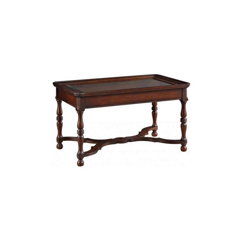 Georgetown Heights Rectangle Coffee Table by Hekman - 2-2407 ...