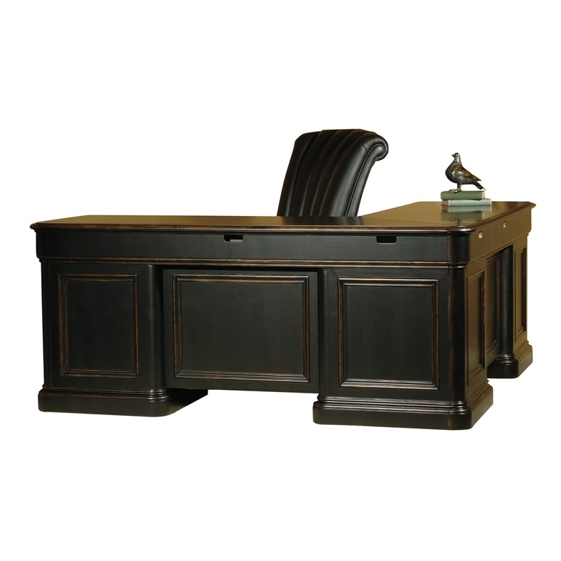 7-9147 Louis Phillippe Executive L-Desk
