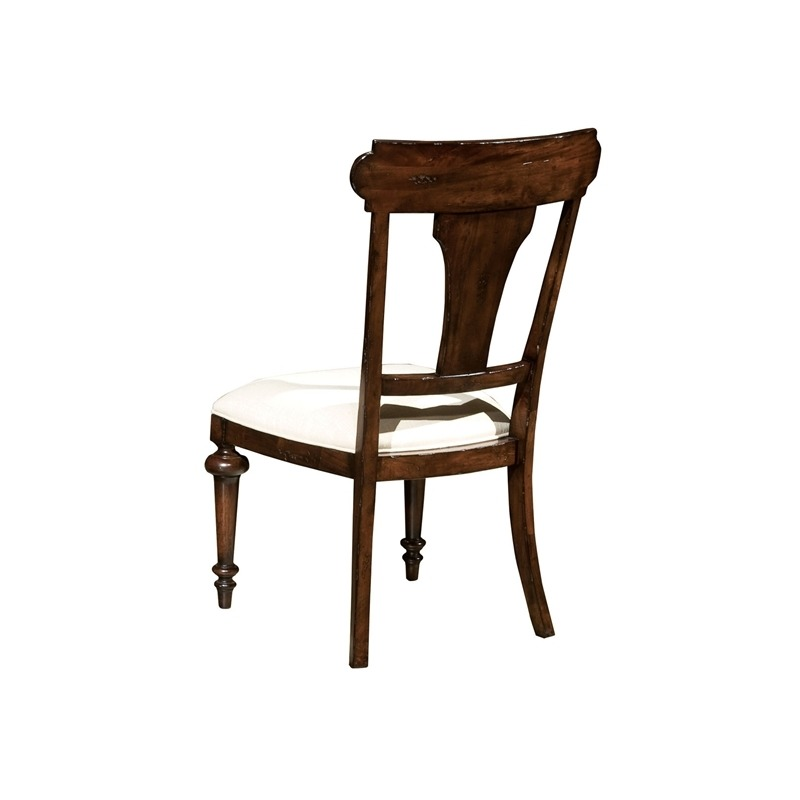 942707CP Charleston Place - Panel Back Side Chair