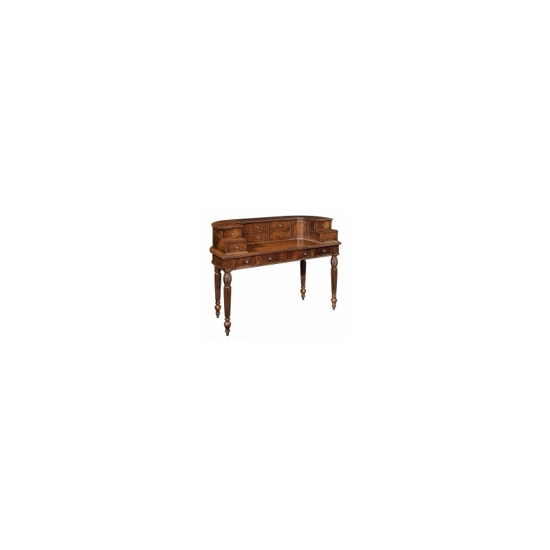 1-1342 New Orleans Writing Desk Hutch
