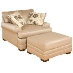 Casbah Fabric Chair & 1/2