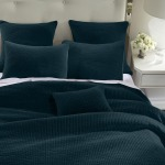 Stonewash Cotton Velvet King 3PC Quilt