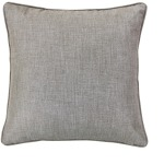 Solid Taupe Linen Euro Sham