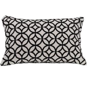 Augusta Cutted Velvet Lumbar Pillow