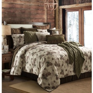 Forest Pine Comforter Set King
