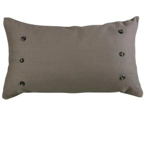 Piedmont Large Taupe/Gray Lumbar Pillow
