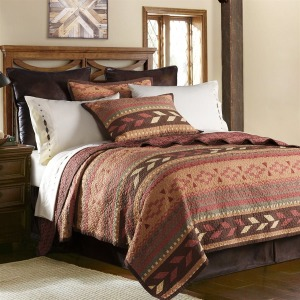 Broken Arrow Bed Set Full