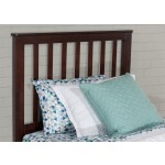 Marley Twin Mission Headboard - Chocolate