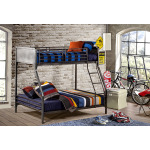 Urban Quarters Twin/Full Bunk Bed
