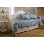 Augusta White Daybed with Deck and Roll-out Trundle