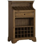 Tuscan Retreat Slanted Wine Rack - Antique Pine