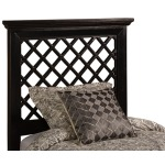 Kuri Twin Headboard - Rubbed Black