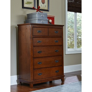 Bailey Chest - Misson Oak