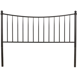 Sloan Queen Size Headboard Only, Black Pewter